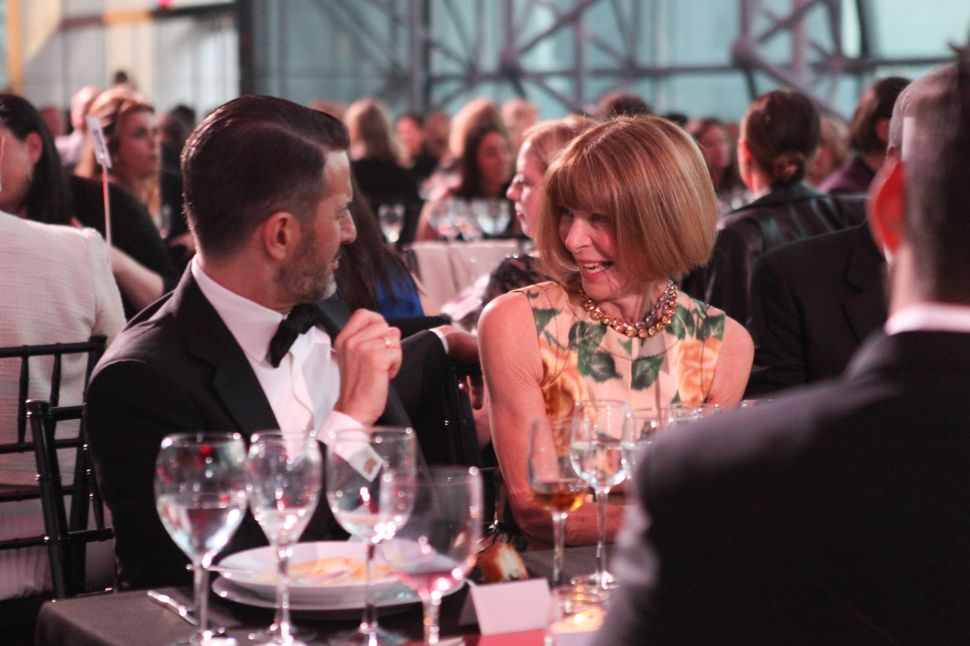 Anna Wintour, Marc Jacobs Take Center Stage At Parsons Benefit