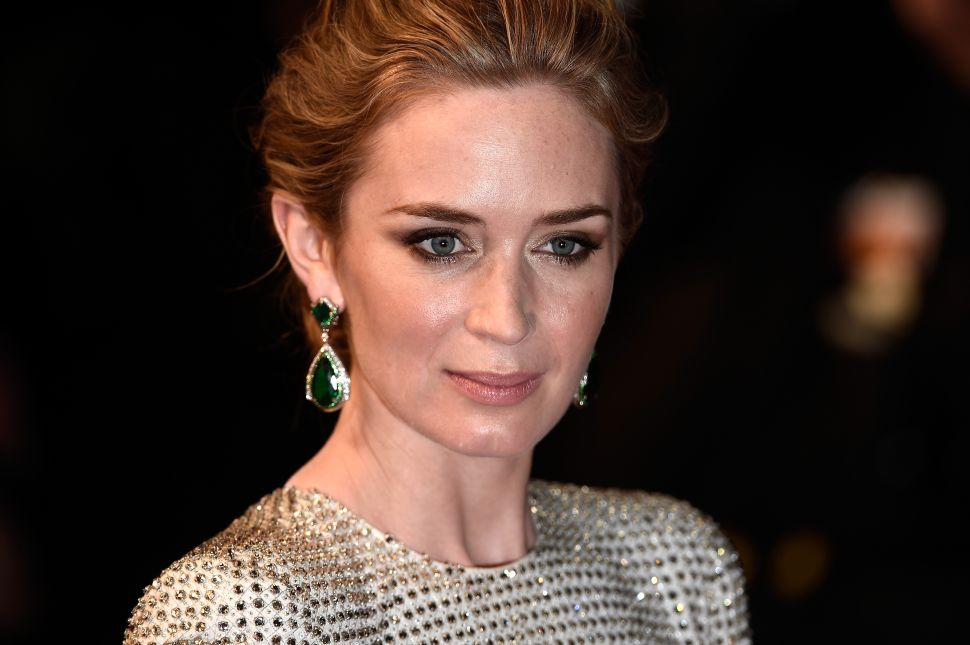 Emily Blunt Decries High Heels on Cannes' Red Carpet