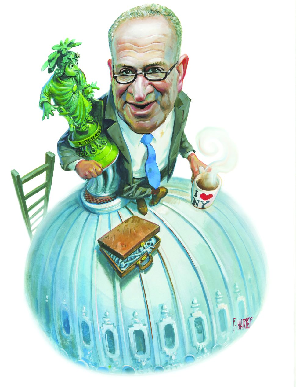Is Chuck Schumer the Right Man to Lead the Senate?
