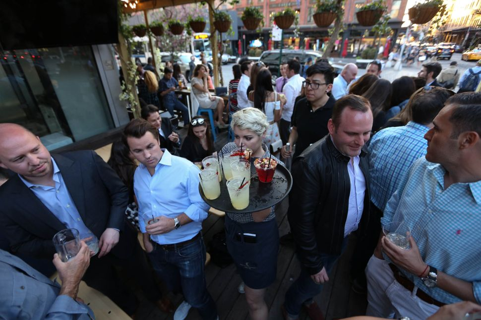 5 Outdoor Cocktail Hideaways In New York