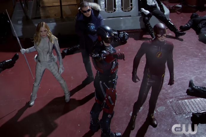 CW Releases the First Look at 'DC's Legends of Tomorrow'