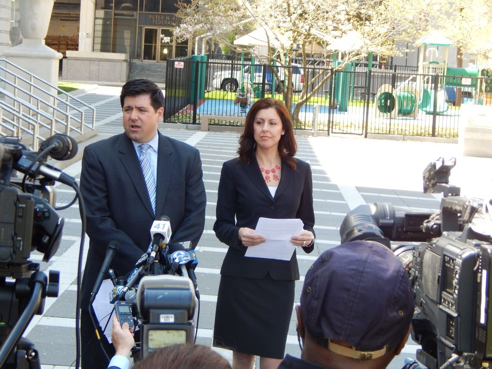 Baroni's team claims his innocence: 'No one doubts [Wildstein] is criminal and liar'