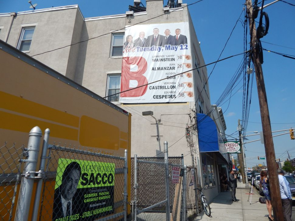 North Bergen: Sacco camp calls into question Wainstein's residency status