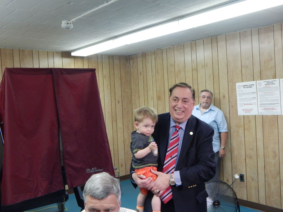 North Bergen: Sacco 'very optimistic' about today's unfurling election