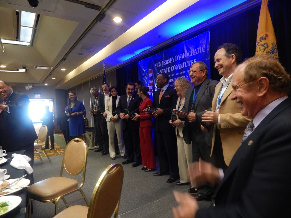 NJ Dems honor county chairs at fired-up Atlantic City luncheon