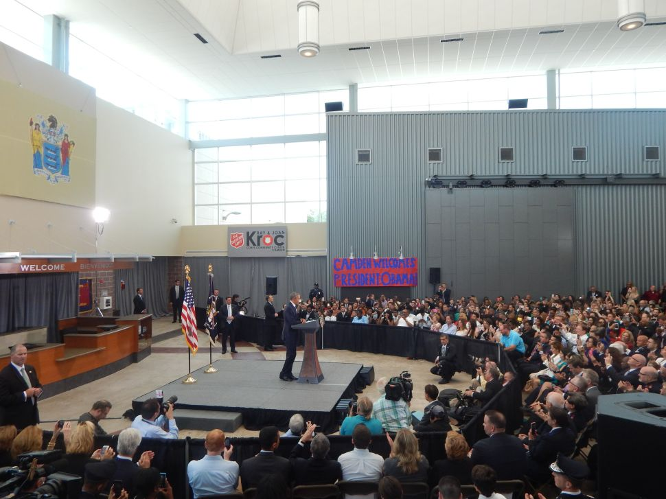 Obama in Camden: 'If it worked here, it can work anywhere'