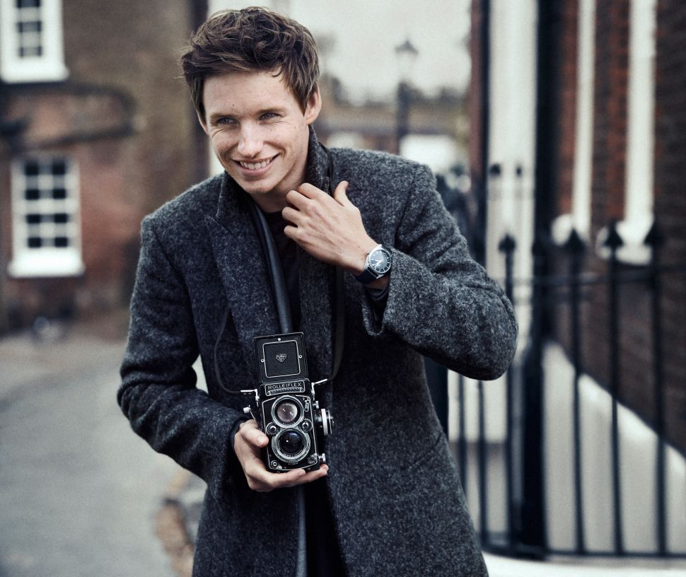 Eddie Redmayne Joins George Clooney as the Face of Omega Watches