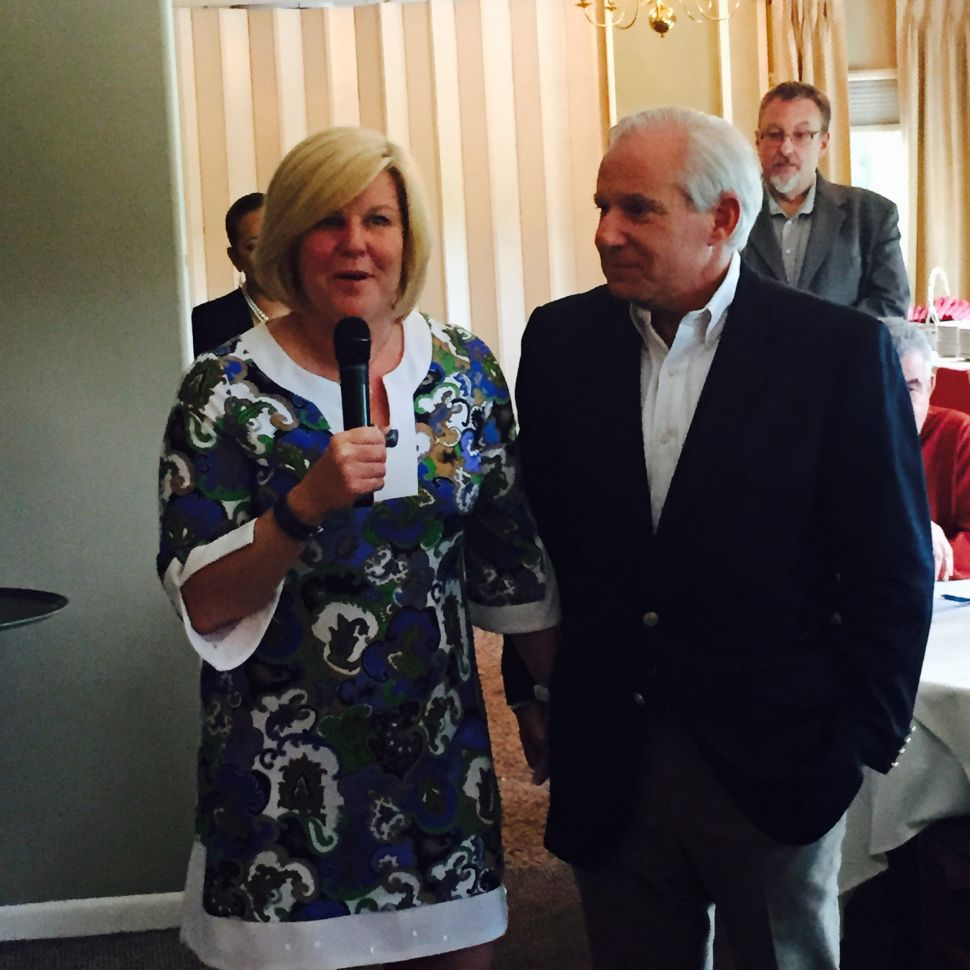 Mahr formally kicks off reelection bid in Fanwood with The Torch