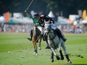 The Veuve Clicquot Gold Cup for the British Open Polo Championship. (Photo: Getty Images)