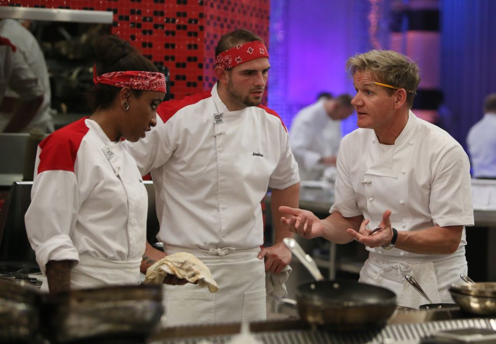 'Hell's Kitchen' Episodes 12-13: Butcher Hands in the Air