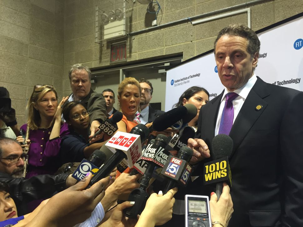 Cuomo on Senate Leadership: 'I Will Work With Whoever They Send Me'