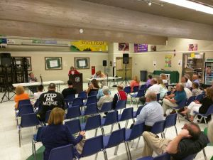 LD24's Assembly candidates meet at a tea party-hosted debate in Sparta Tuesday night.
