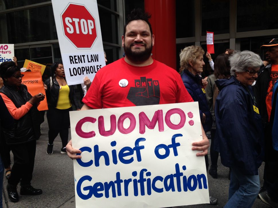 Activists Rip Cuomo's Rejection of Stronger Rent Laws