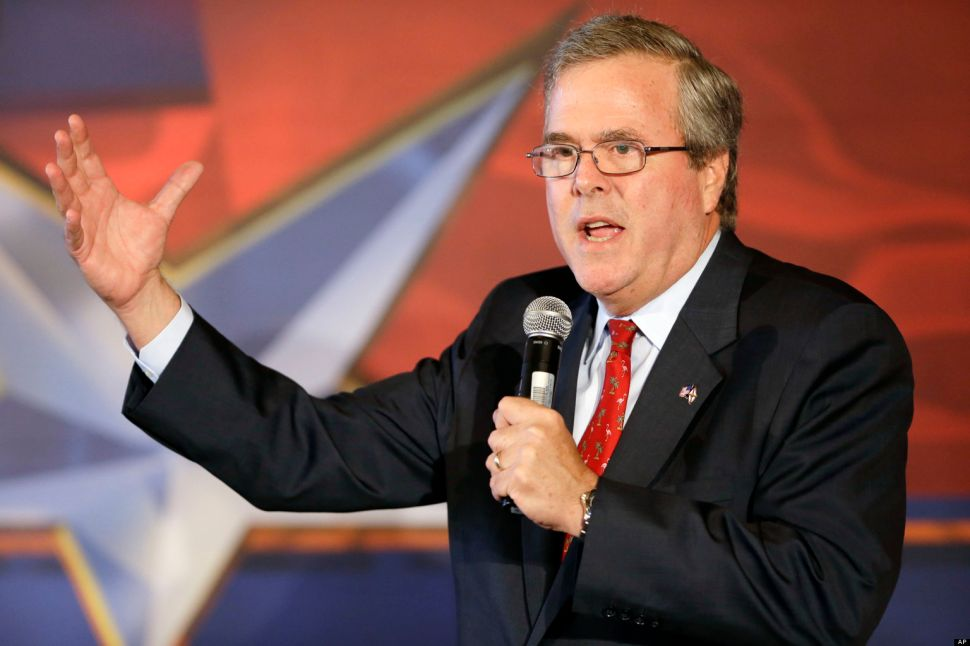 Jeb Bush: Unenviably Inevitable