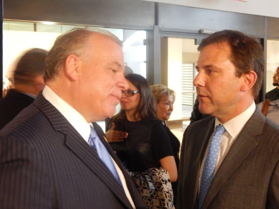 Sweeney and Kean Clash on the Senate Floor
