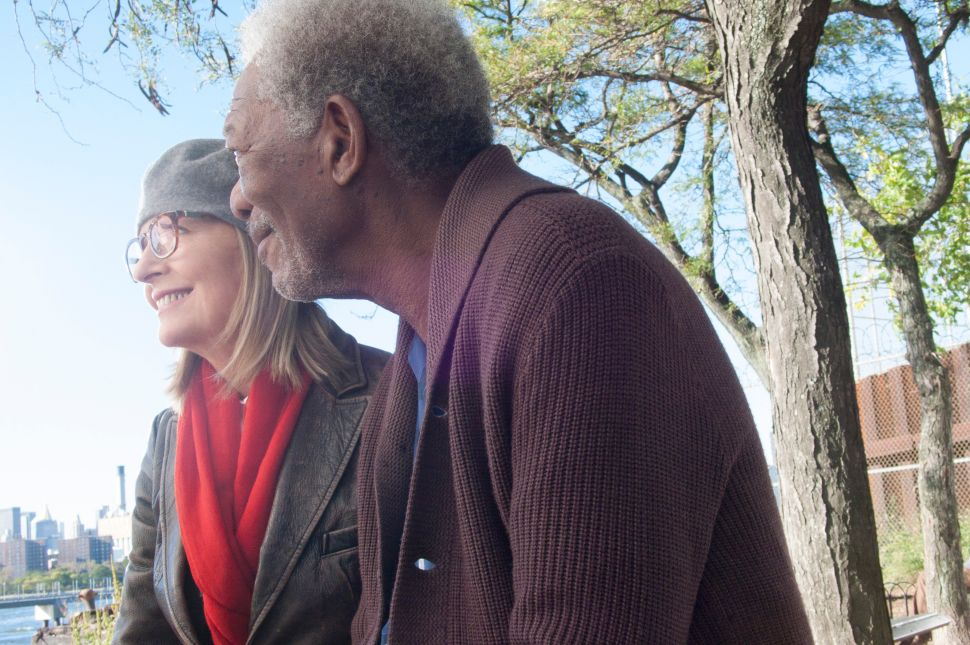 In '5 Flights Up,' Keaton and Freeman Play an Elderly Couple in Gentrifying Brooklyn