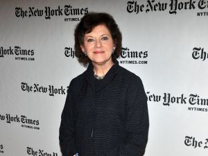 NEW YORK, NY - JANUARY 08: New York Times film and literary critic Janet Maslin attends the 10th Annual New York Times Arts & Leisure Weekend photocall at the Times Center on January 8, 2011 in New York City. (Photo by Stephen Lovekin/Getty Images)