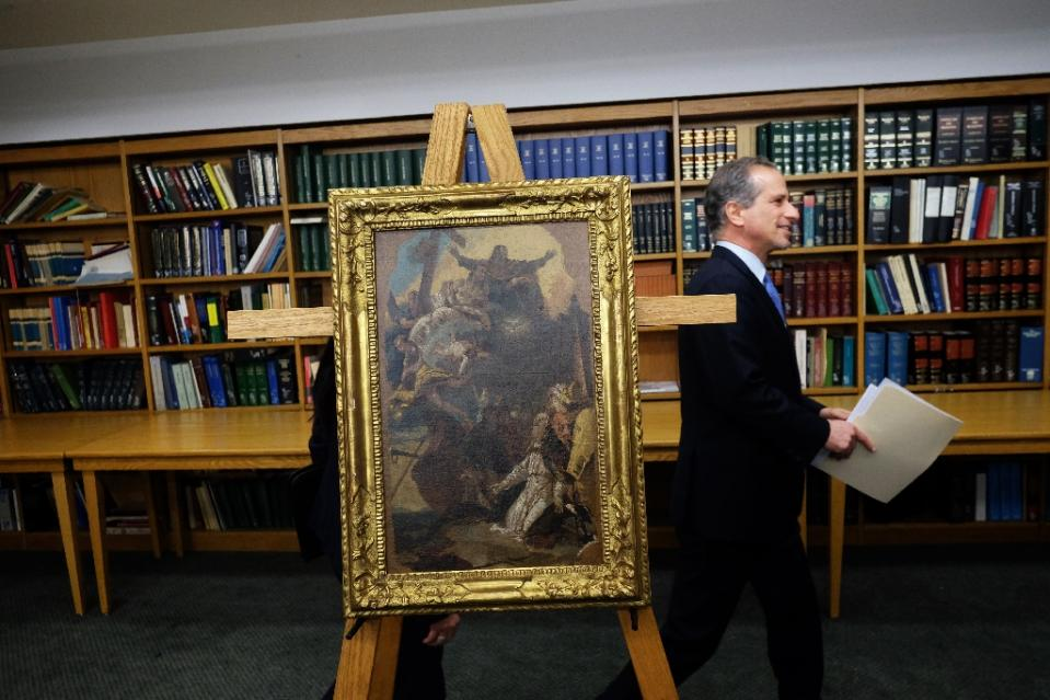 Can't Find Your Stolen Italian Masterpiece? It's Probably Somewhere in New York City