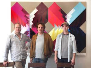 Marlborough Chelsea directors Pascal Spengemann, Max Levai, and Leo Fitzpatrick. (Photo: courtesy Marlborough Chelsea)
