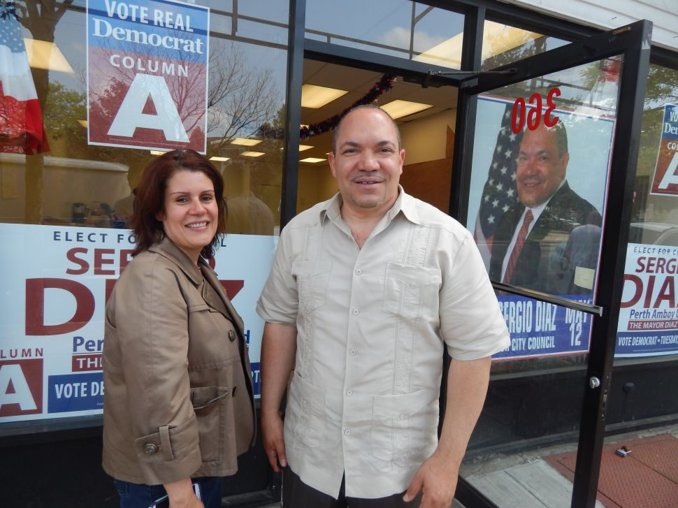 In Perth Amboy, Gonzalez seeks to be 'lone dissenting voice' against Diaz