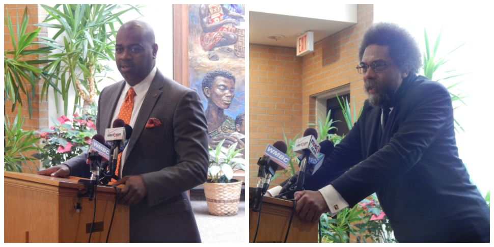 Baraka, West promote summer protest march in Newark against police brutality, inequality