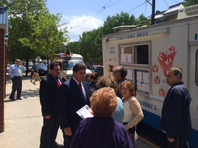 West New York mayor's race: Roque dishes out ice cream, Fonseca to dish out campaign attack