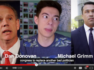 A Youtube ad urges voters to vote against Dan Donovan. (Screengrab: Youtube)
