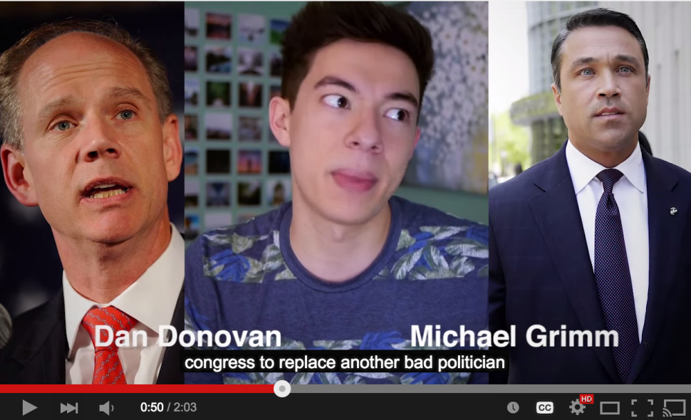 Youtube 'Stars' Urge People to Vote Against Donovan Over Eric Garner Case