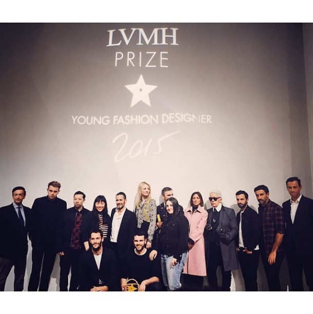 An Instagram Journey Through Today's LVMH Prize Event