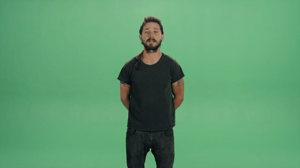 Shia LaBeouf Teams With Art School Students to Make Video Art