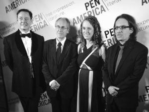 Andrew Solomon, Gérard Biard, Suzanne Nossel, and Jean-Baptiste Thoret.