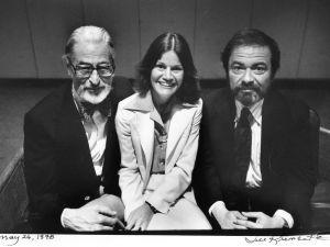 Dr. Seuss (Theodore Geisel), Judy Blume and Maurice Sendek photographed by Jill Krementz on May 26, 1978 in Atlanta, Ga.