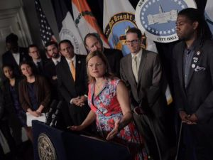 Speaker Melissa Mark-Viverito.