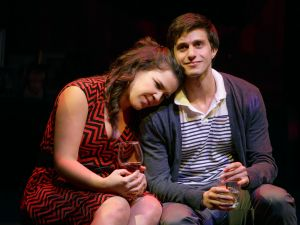 Lindsay Mendez and Gideon Glick in Significant Other. (Photo: Joan Marcus)