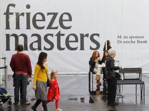 Frieze Masters 2013. (Photo: Joe Clark Courtesy of Frieze)