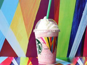 Starbucks advertising that purportedly utilizes Maya Hayuk's artwork without permission. (Photo: Starbucks)