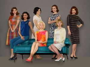 Rocket (wo)man: the cast of The Astronaut Wives Club. (ABC)
