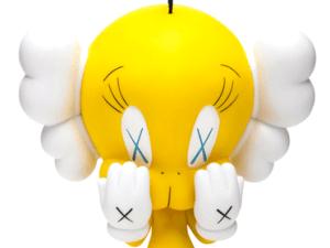 Yellow Tweety KAWS