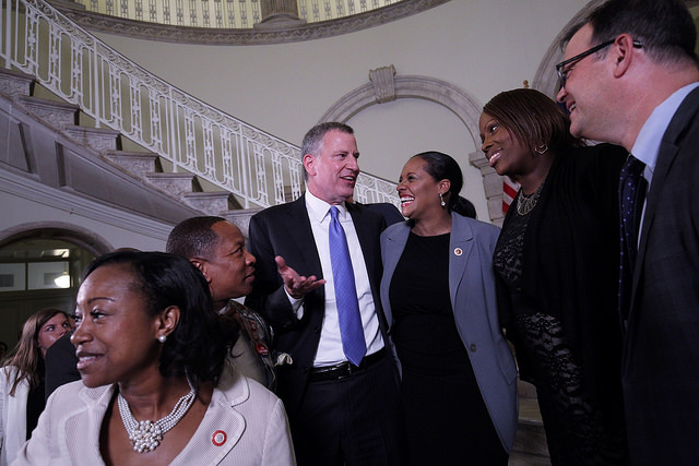 Bill de Blasio Quietly Backs Away from Fight to End Member Items