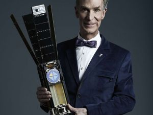 Bill Nye and his team recently launched the LightSail spacecraft into orbit. (Photo: The Planetary Society)