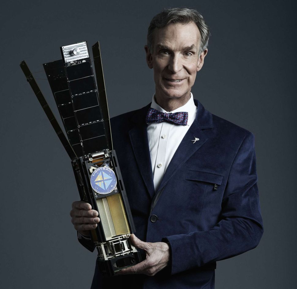 Exclusive: Bill Nye on the Ups and Downs of the LightSail Project