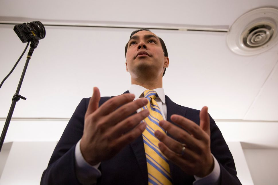 Julian Castro Plays Off-Broadway, Continuing His Audition for Hillary