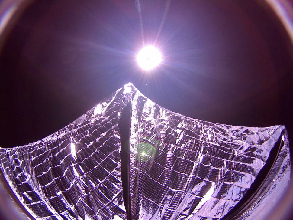 Lightsails Can Carry Us Into Space, and Clear It Out Too