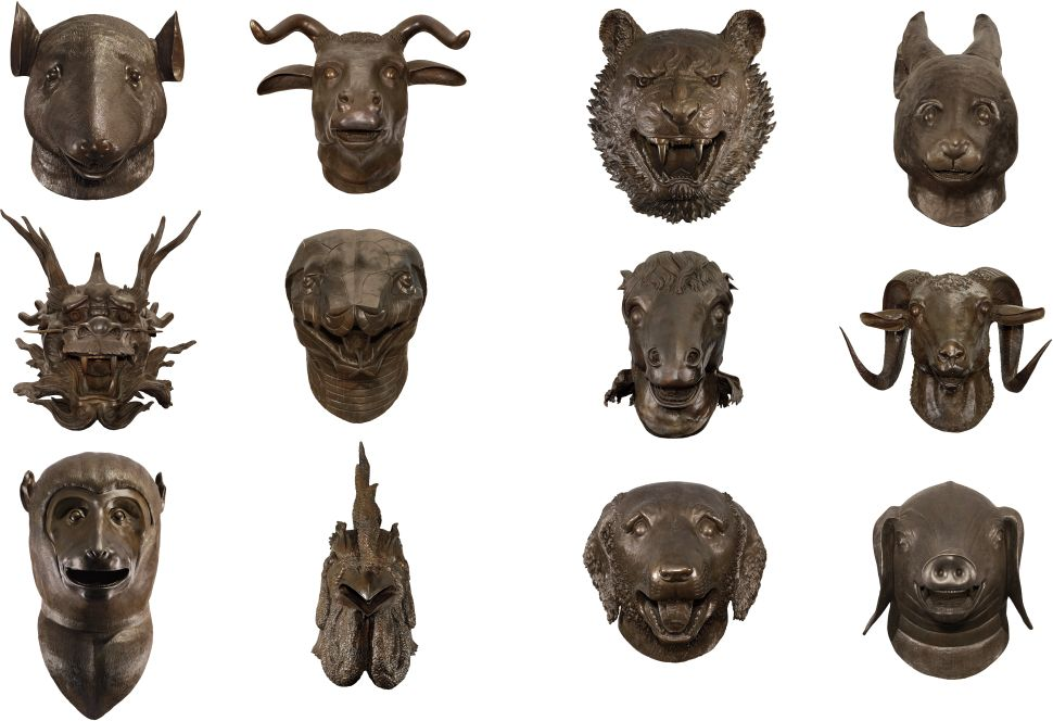 Ai Weiwei Zodiac Sculptures Sell for Record $5.4M