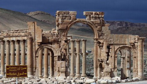 ISIS Surrounds Ancient Syrian City of Palmyra With Land Mines