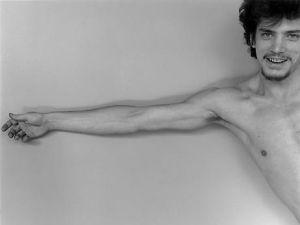 Robert Mapplethorpe, Self-Portrait (1975). (Photo: The Robert Mapplethorpe Foundation)