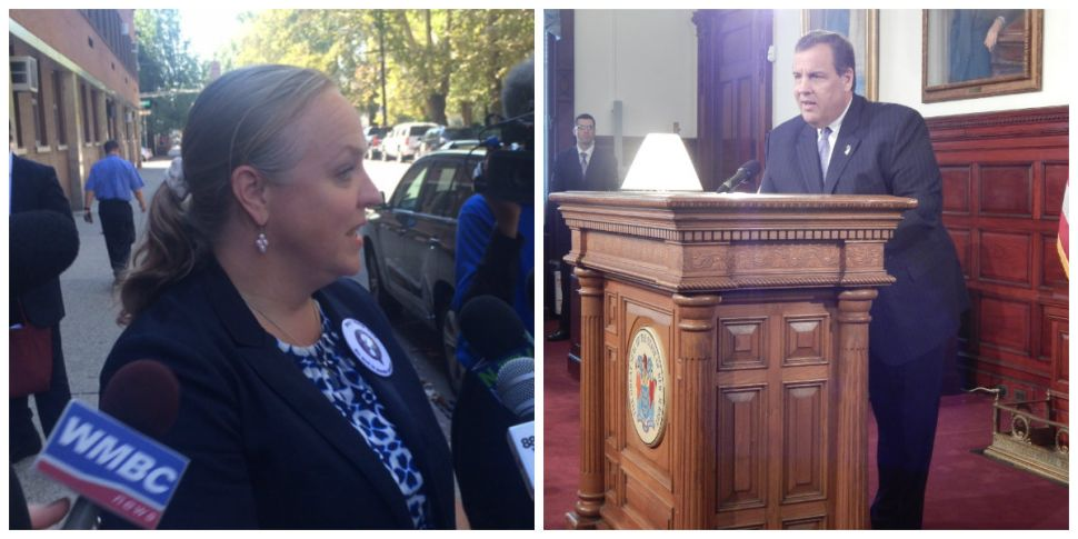 """Christie on Cami Anderson: """"She did an extraordinary job"""" as Newark Schools Superintendent, despite controversy, protests"""