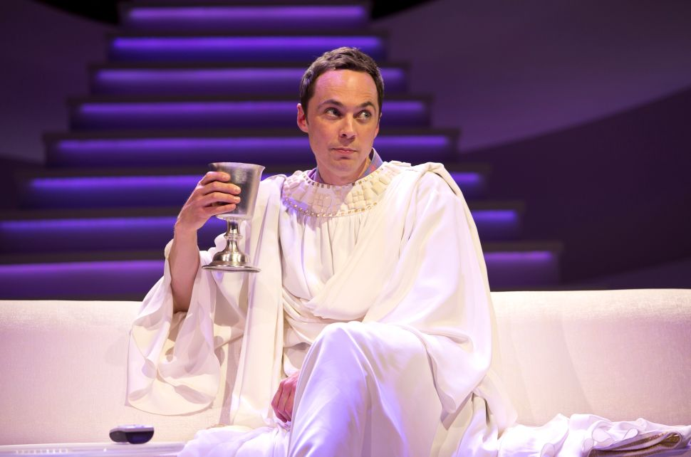 Jim Parsons Dons His Holy Vestments in 'An Act of God'