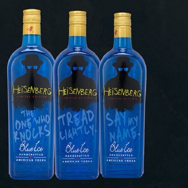 The 10 Most Appropriate Times to Drink Blue Ice's 'Breaking Bad' Vodka