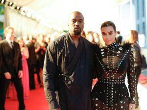 Kanye West, Kim Kardashian (Photo: BFA).
